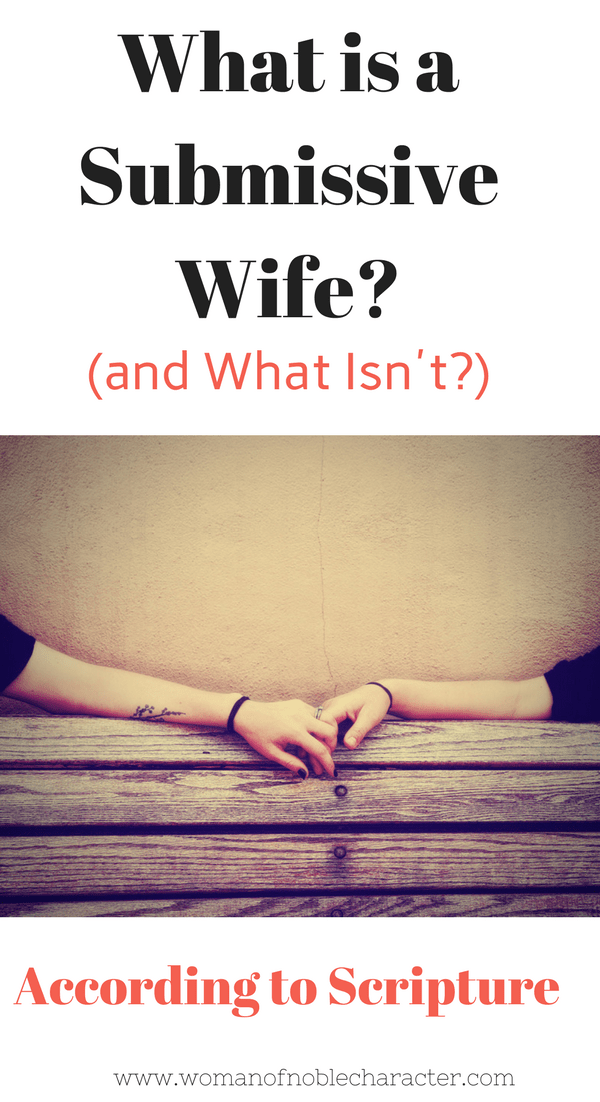 What is a Submissive Wife_