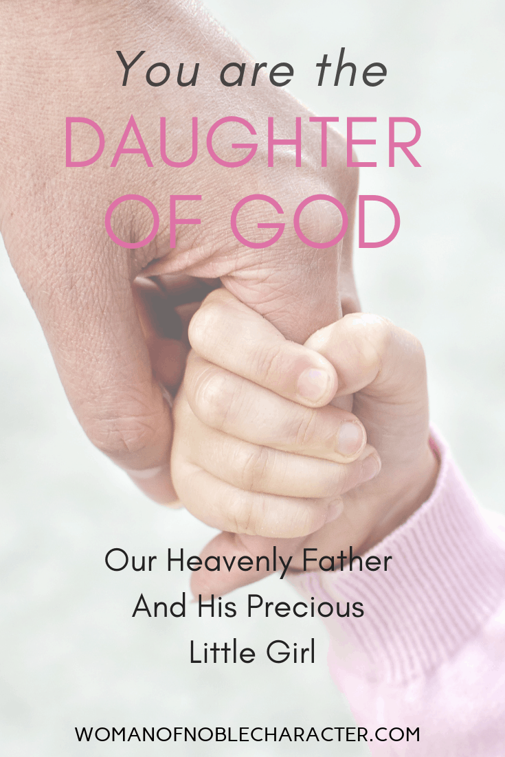 Our heavenly father & his precious little girl