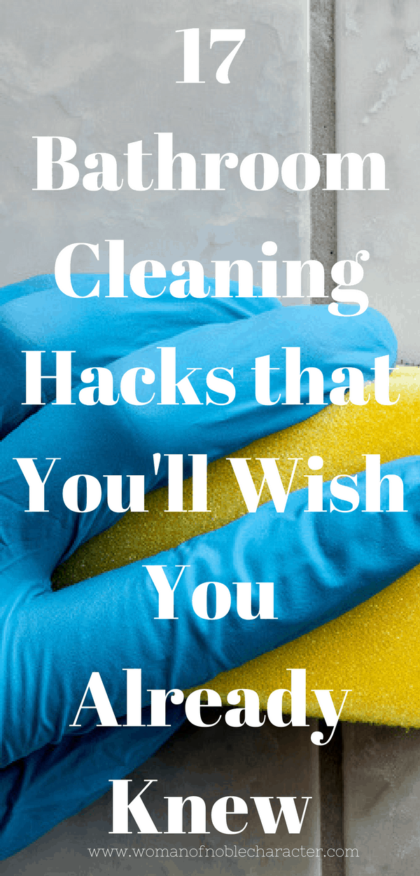 bathroom cleaning hacks 1 - Bathroom Cleaning Hacks
