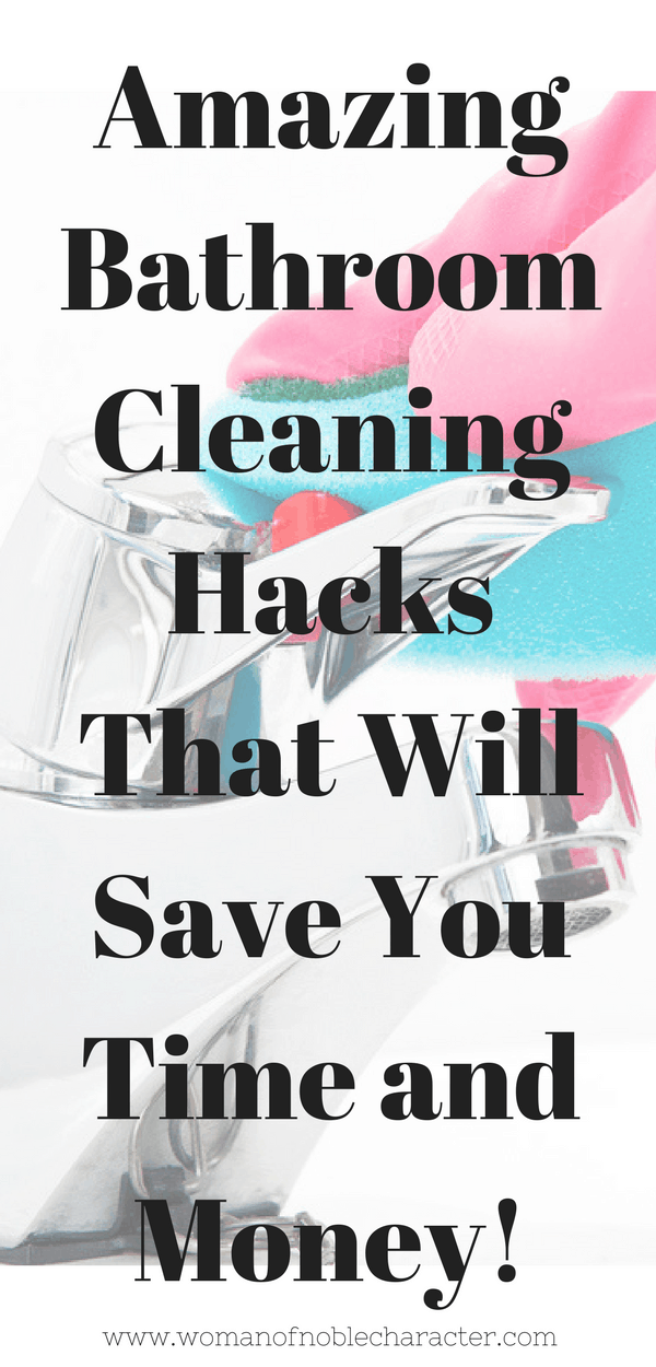 bathroom cleaning hacks 2