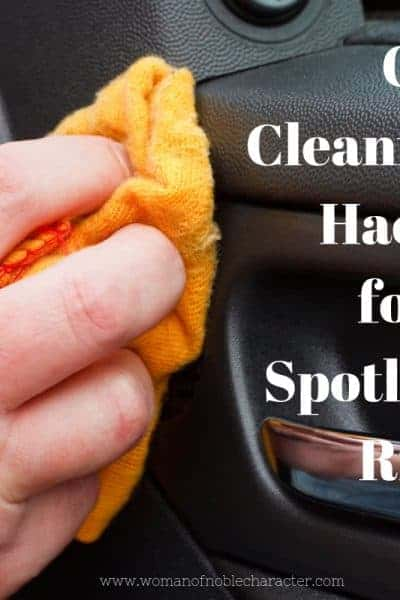 Car Cleaning Hacks for a Spotless Ride 1