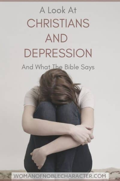 Christians and depression