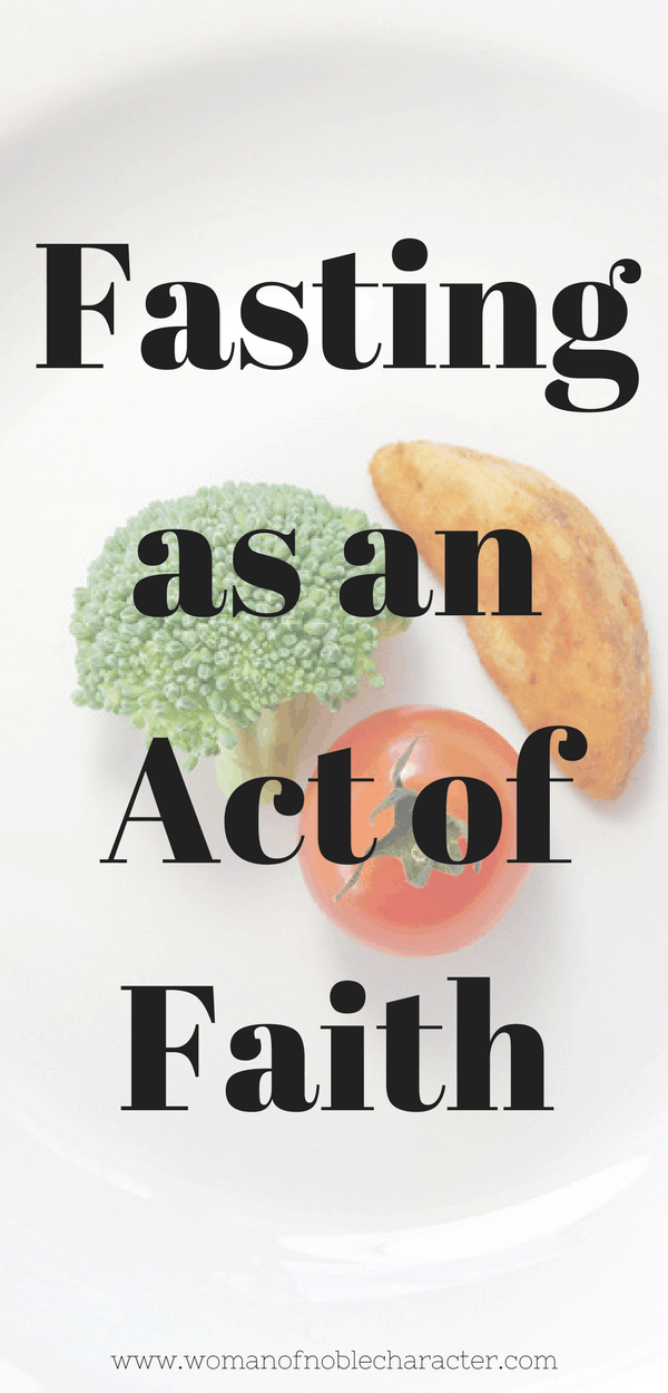 Fasting as an Act of Faith 3