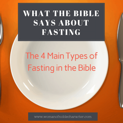 types of fasting in the Bible
