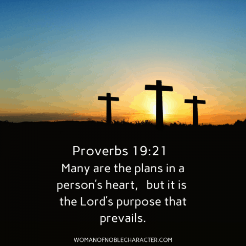 Proverbs 19:21 - is God opening doors in your life
