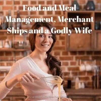 Proverbs 31 merchant ships