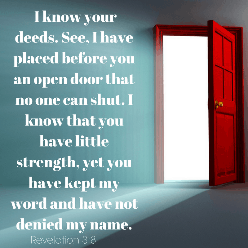 The God of Open Doors symbolism of open doors in the Bible, what the Bible says about open doors, Bible symbolism of open doors