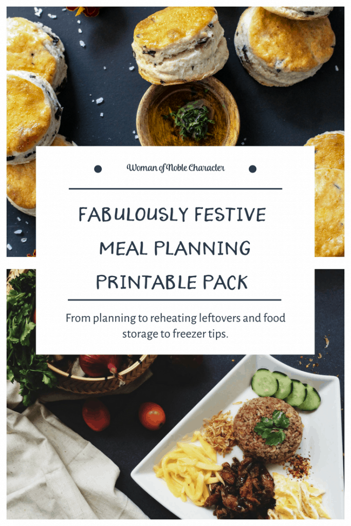 abulously Festive Meal Planning Printable Pack
