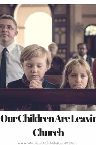 Why Our Children are Leaving the Church - 1