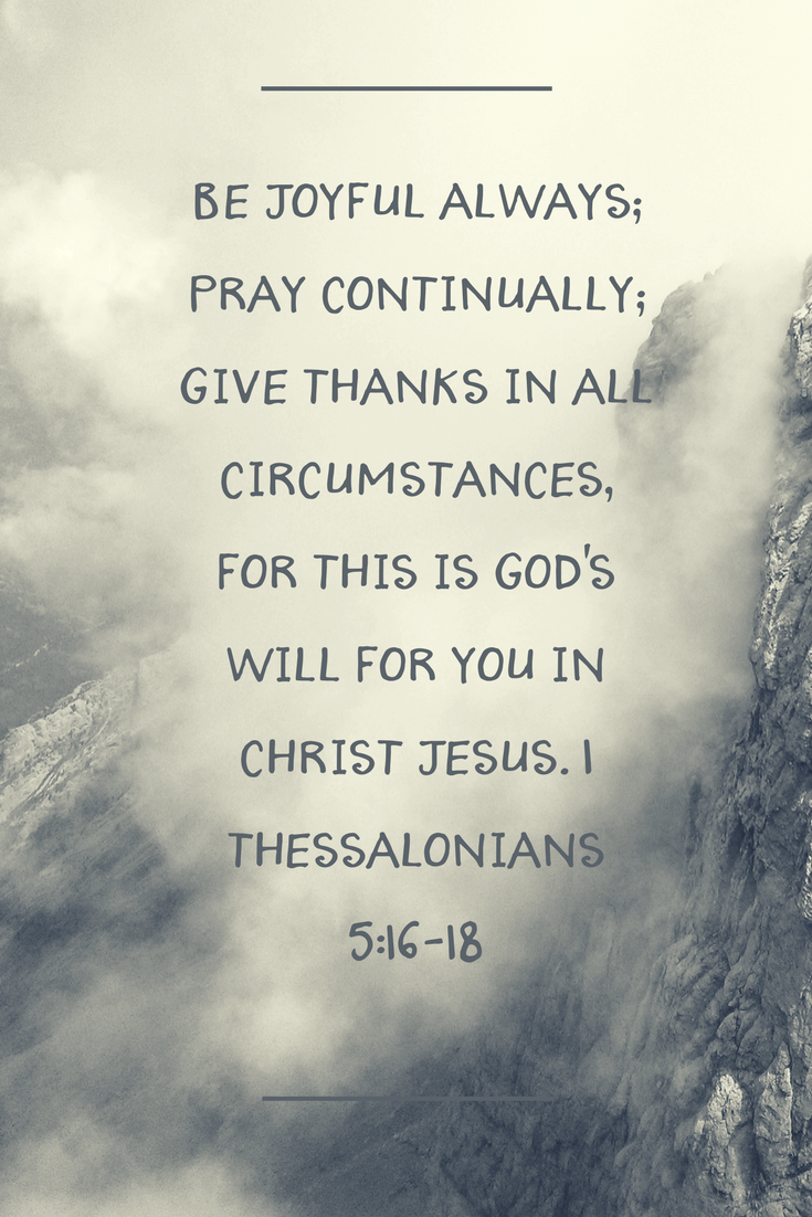 1 Thessalonians 5-16-18 How To Develop An Attitude Of Gratitude For Your Husband