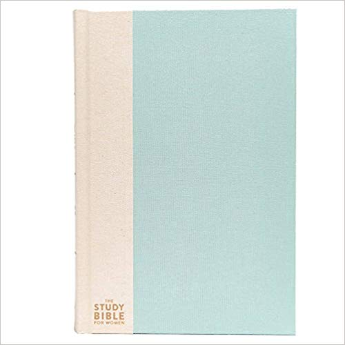 The CSB Study Bible For Women, Light Turquoise/Sand Hardcover