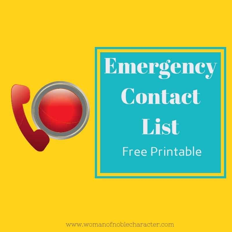 picture regarding Printable Emergency Contact List known as crisis make contact with checklist with totally free down load or printable