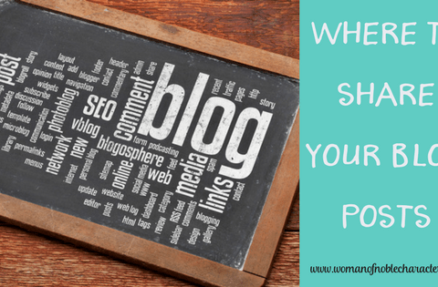 Where to Share YOur Blog posts
