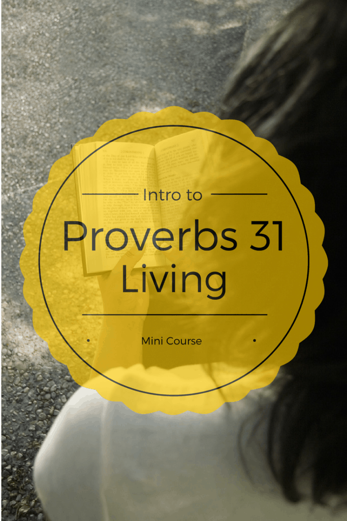 intro to Proverbs 31