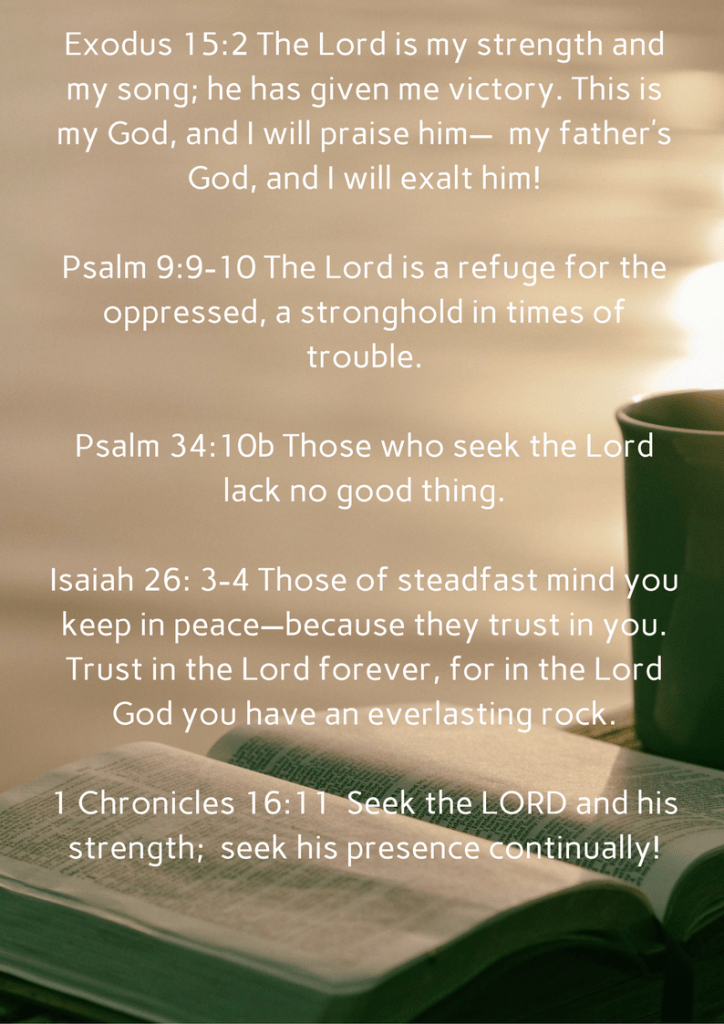 Bible verses for encouragement (1)