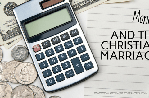 Money money and the Christian marriage