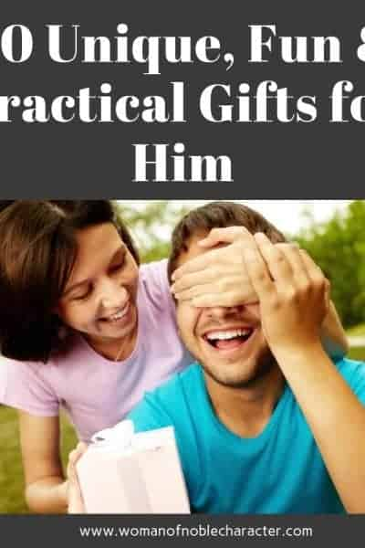 30 Unique, Fun & Practical Gifts for Him