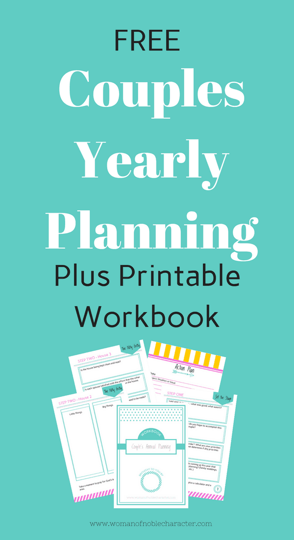 Couples Yearly Planning Workbook
