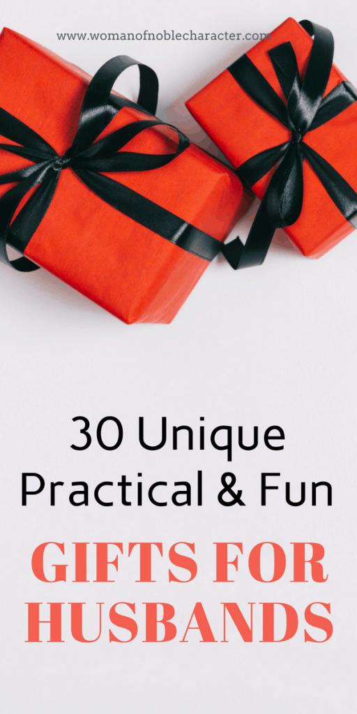 30 Unique Fun And Practical Gifts For Husbands Every Budget