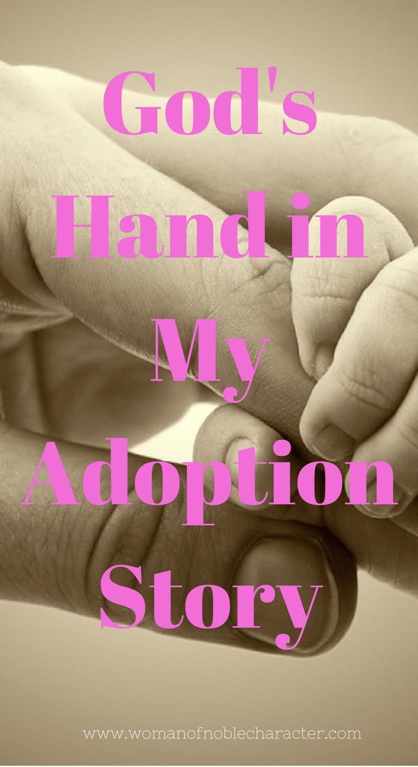 God's Hand in My Adoption Story