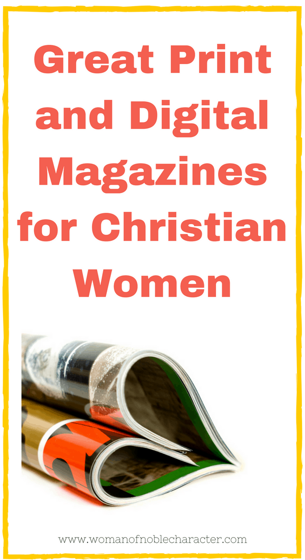 print and digital magazines for Christian women