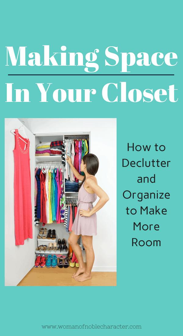 4 Easy Steps to Organize Your Closet, closet organizing, how to organize your closet