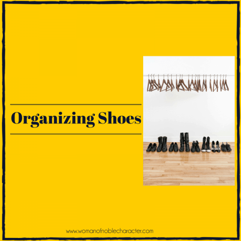 organizing shoes, how to organize your shoes, shoe organization