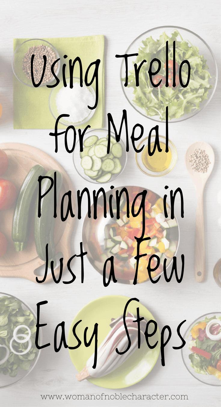 Trello Meal Planning