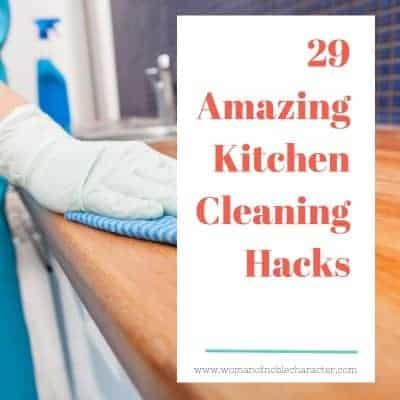 29 Amazing Kitchen Cleaning Hacks