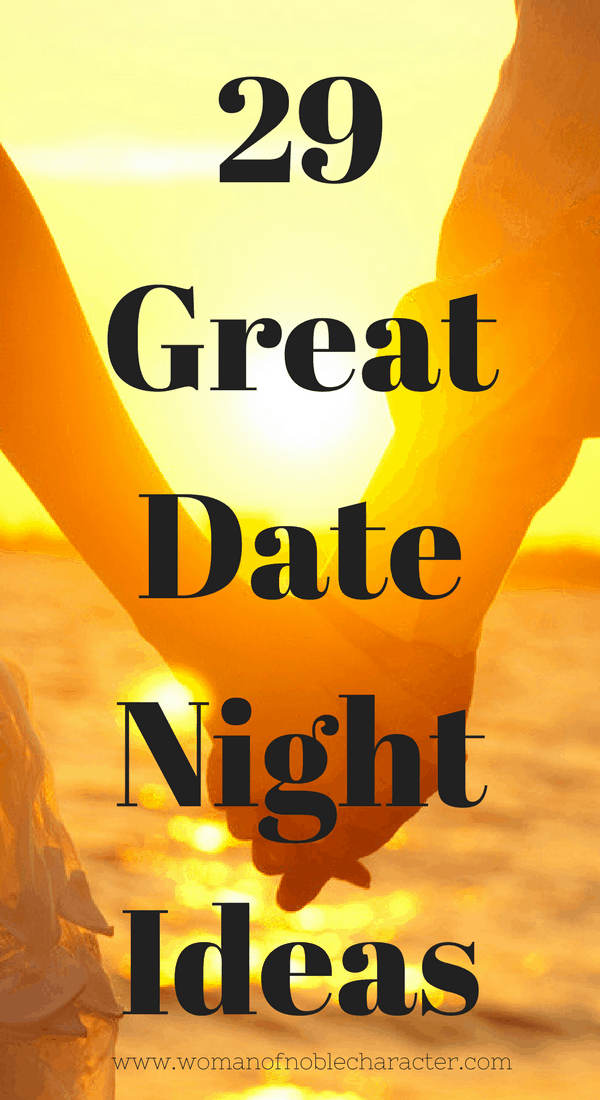 29 Great Date Night Ideas dating your husband