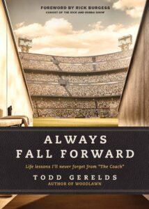 Always Fall Forward by Todd Geralds Sports devotions Christian
