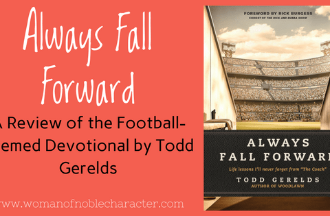 Always Fall Forward by Todd Geralds Sports devotions Christian