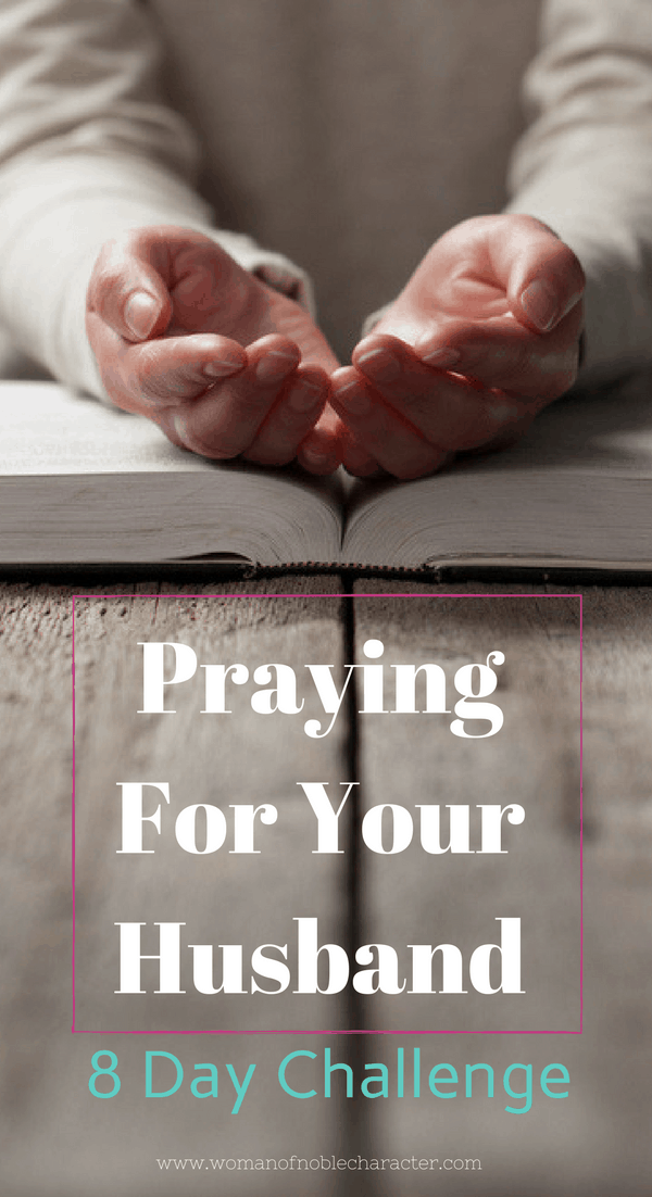 praying for your husband prayer challenge