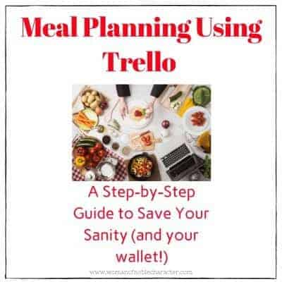 Trello for Meal Planning 1
