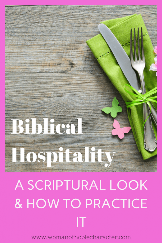 what is Biblical Hospitality