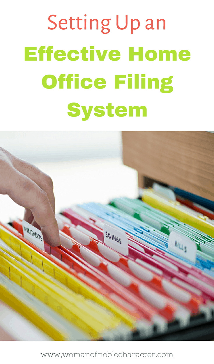 Home office files