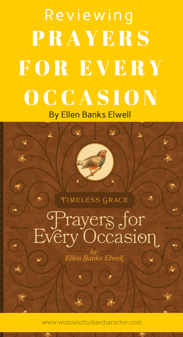 Prayers for Every Occasion by Ellen Banks Elwell
