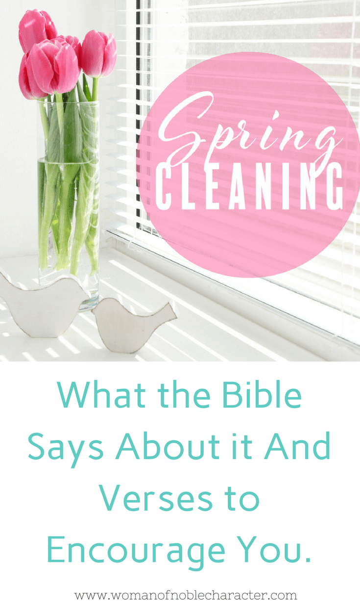 Master Spring Cleaning Checklist spring cleaning free printable Bible verses for spring cleaning
