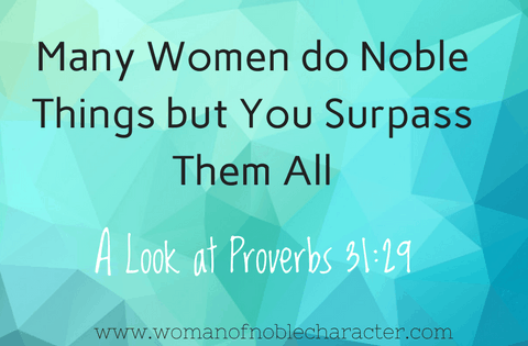 a Proverbs 31 wife