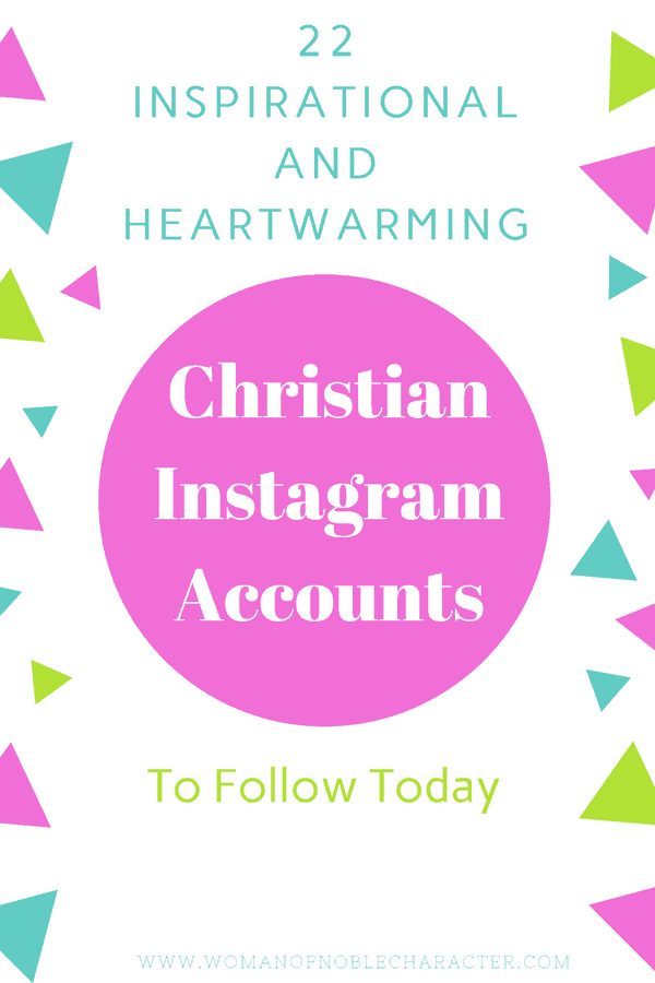 Christian Instagram Accounts (1)