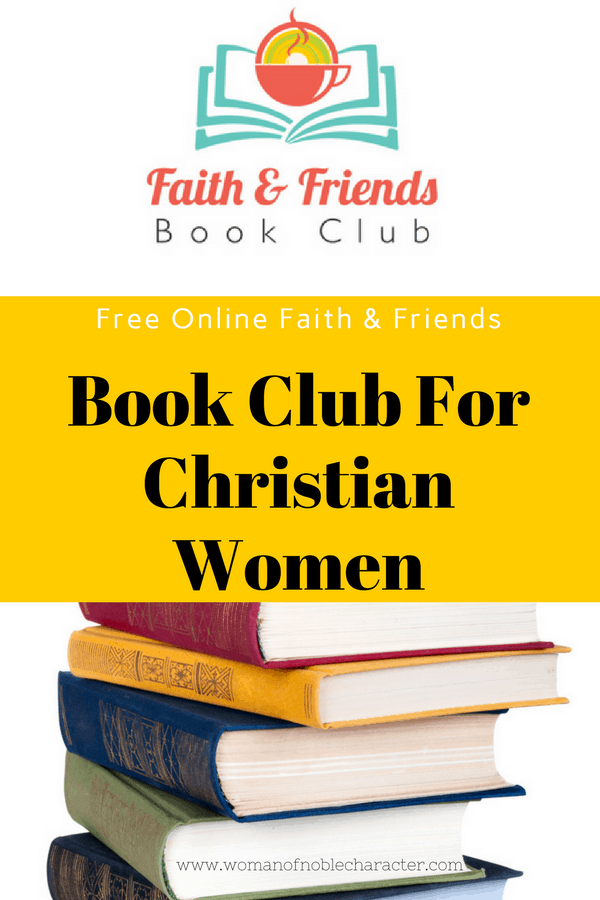 Faith & Friends Book Club for Christian Women fiction and