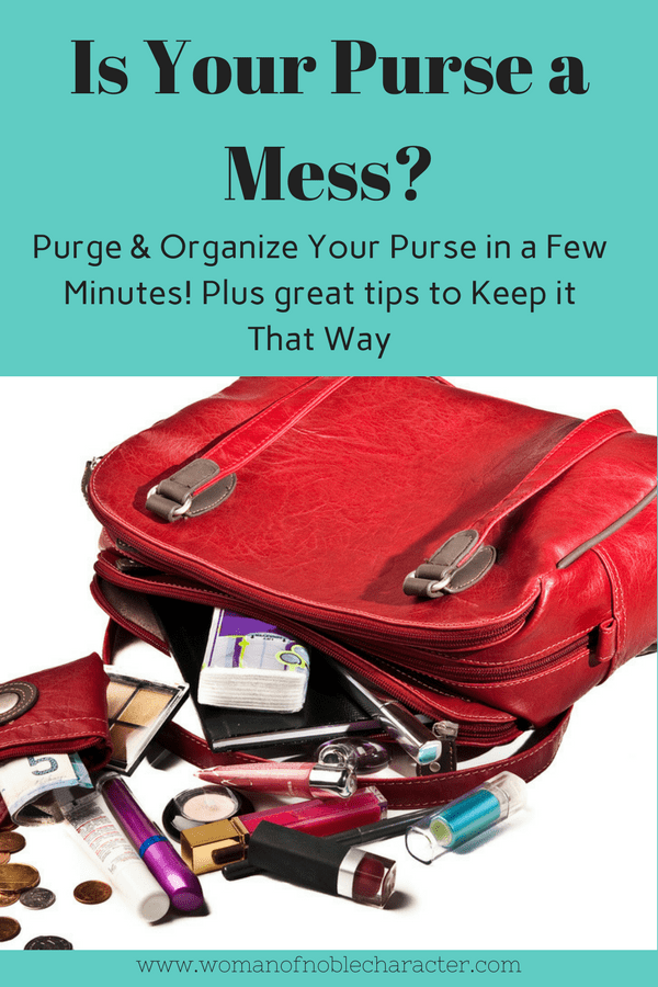 Purse Organizing organizing your purse, purse organization