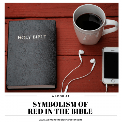 Red in the Bible Color Symbolism in the Bible