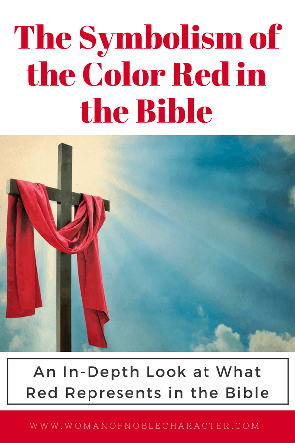 The Symbolism of the Color Red in the Bible