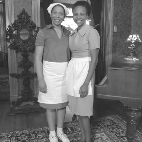 Sharrone Lanier and Eleanor Brown Summer of '67