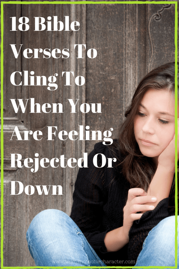 Bible verses when you are down