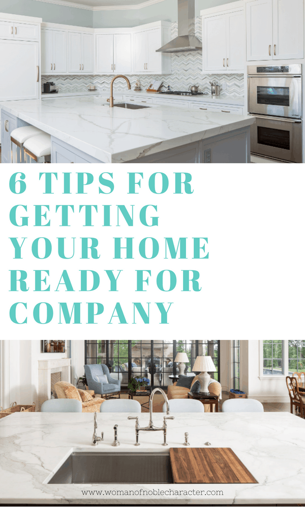6 Tips for Getting Your home and counter ready for company (1)