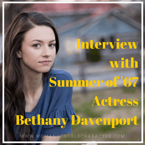 Bethany Davenport Summer of '67 actress