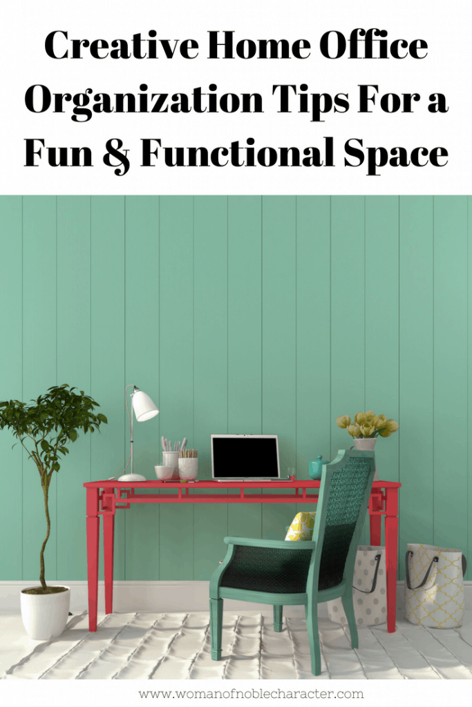 Creative Home Office Organization Tips For a Fun & Functional Space (1)