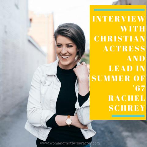 Interview with Christian Actress Rachel Schrey